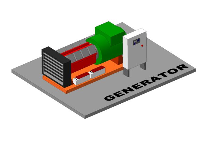Системы управления на дизельные генераторы