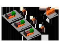 Система управления изолированной параллельной работой генераторных установок
